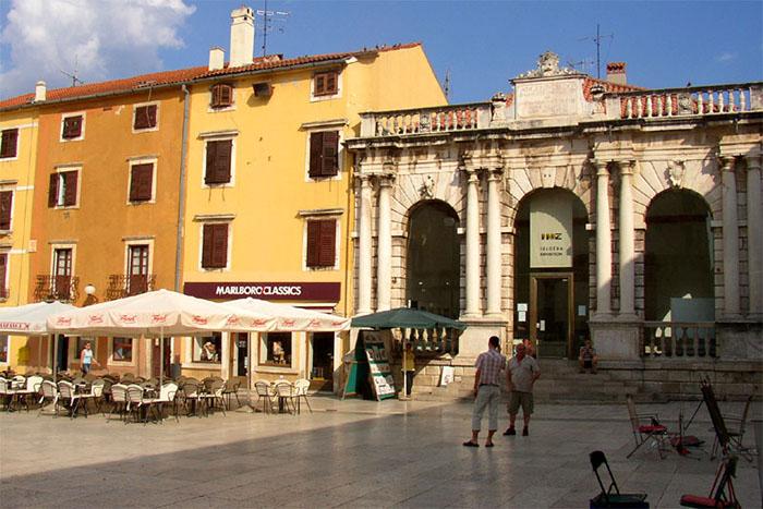Gradska Loza, Zadar, Croácia