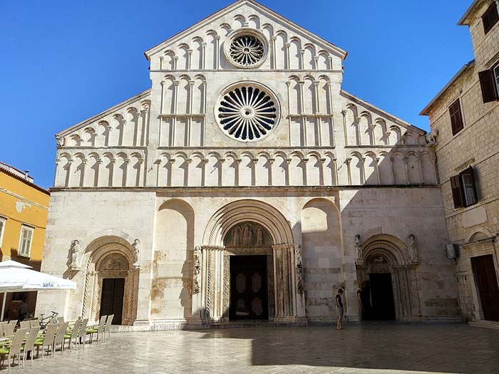 Igreja de Santa Anastácia, em Zadar, Croácia