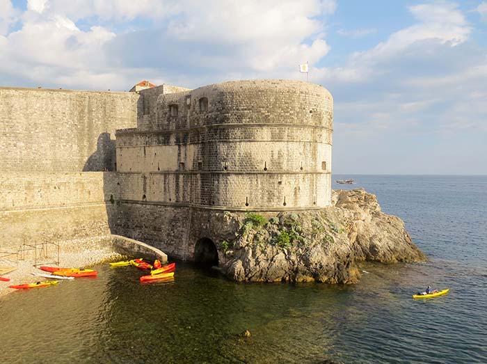 Forte de São João, em Dubrovnik, Croácia