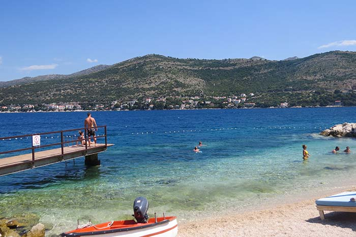 Cava Beach, Dubrovnik, Croácia