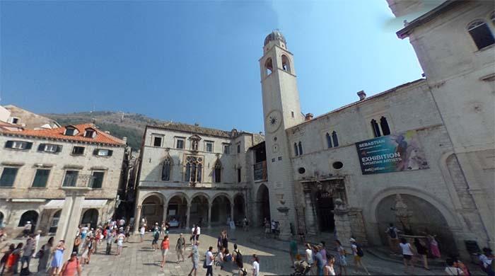 Palácio Sponza, em Dubrovnik, Croácia