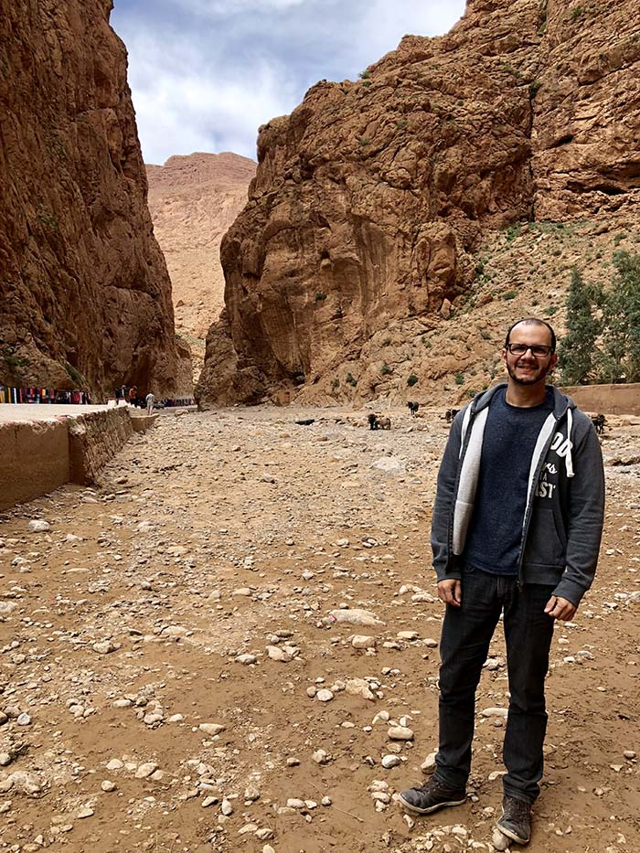 Gargantas do Todgha, no Marrocos