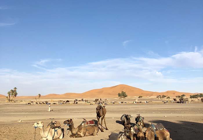 Merzouga, a porta de entrada das dunas de Erg Chebbi