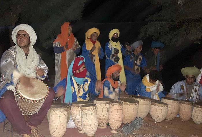 acampamento berbere, no Marrocos