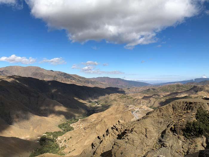 Montanhas do Atlas, no Marrocos