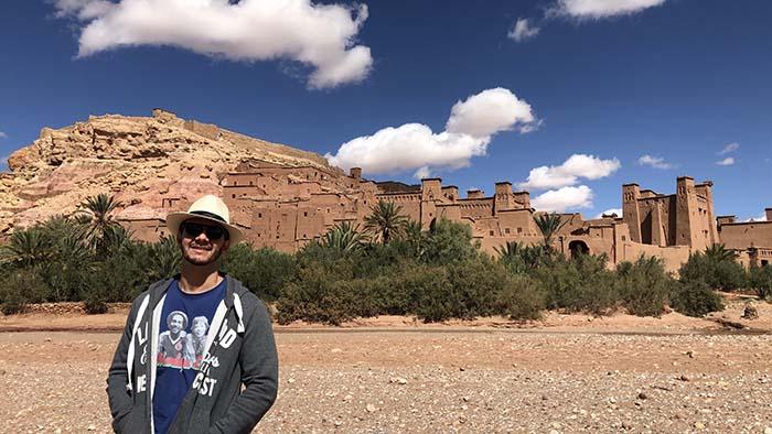 Aldeia fortificada - ksar Ait-Ben-Haddou
