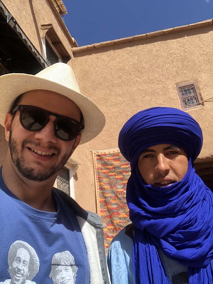 marroquino morador do ksar