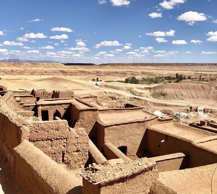ksar Ait-Ben-Haddou, no Marrocos