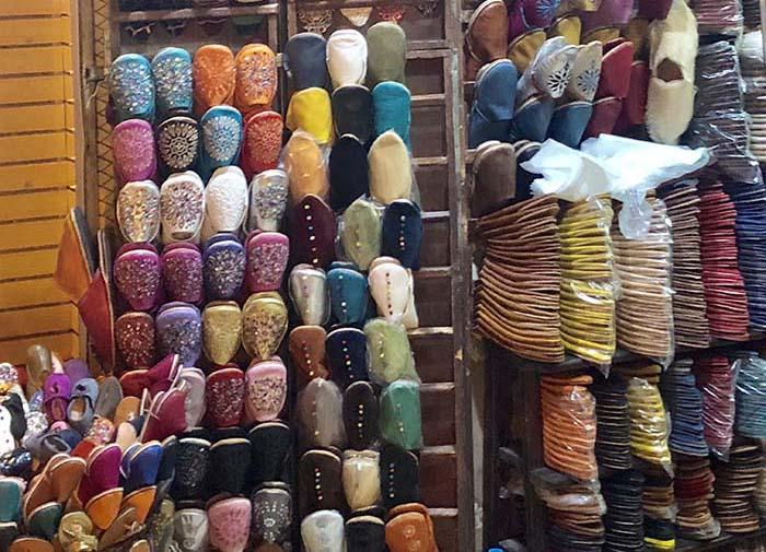 calçado marroquino