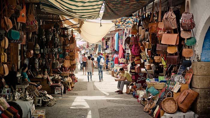 souk - mercado marroquino