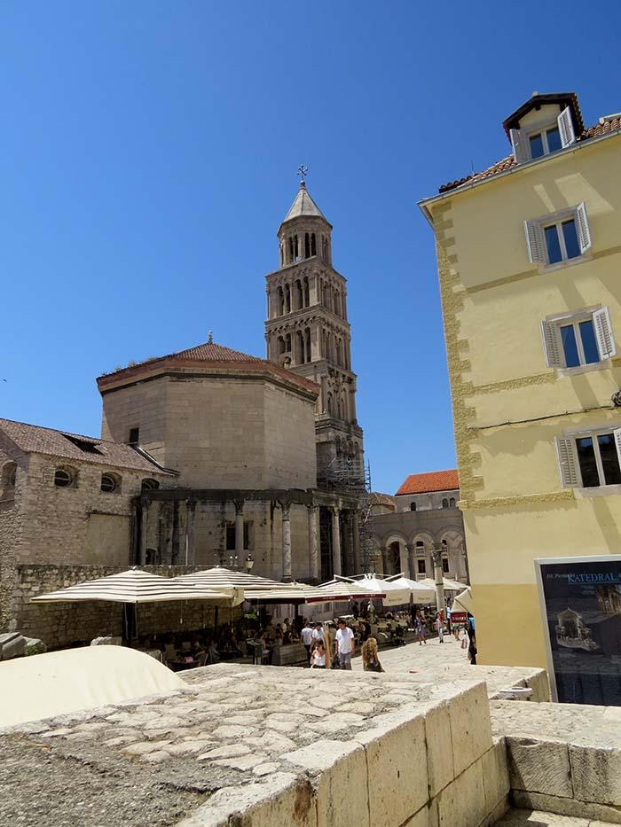 Palácio de Diocleciano, em Split, Croácia