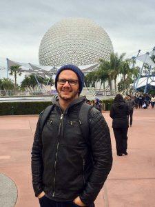 Wendel Almeida em Epcot Center, Flórida, USA