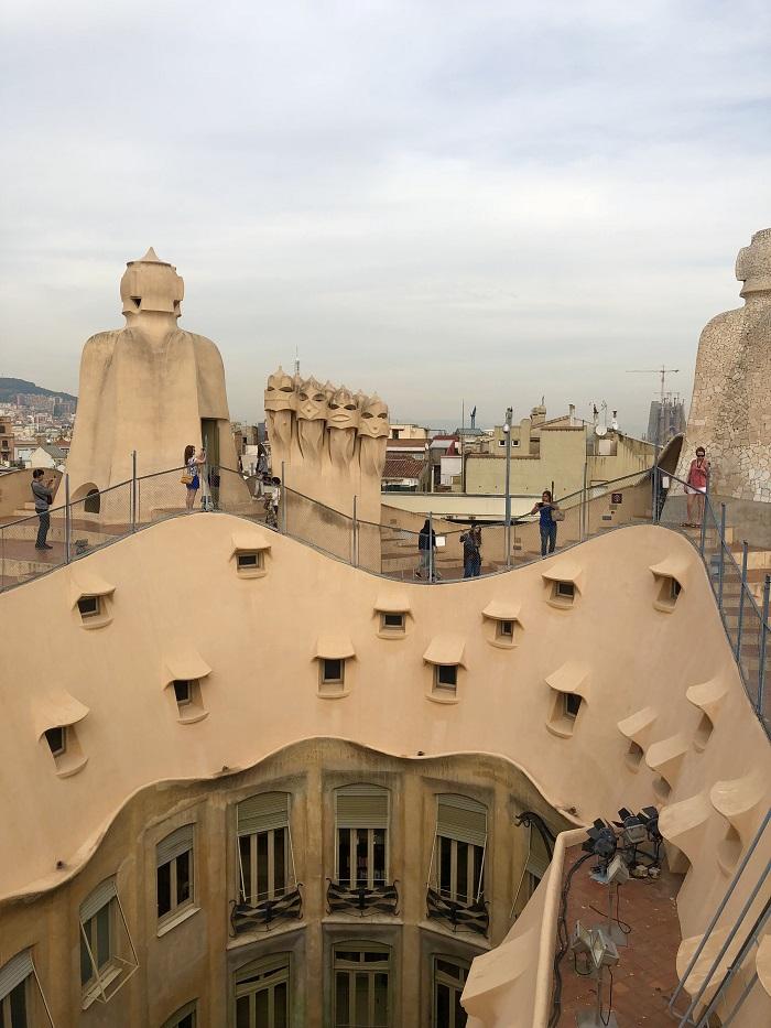 Roof top de La Pedrera