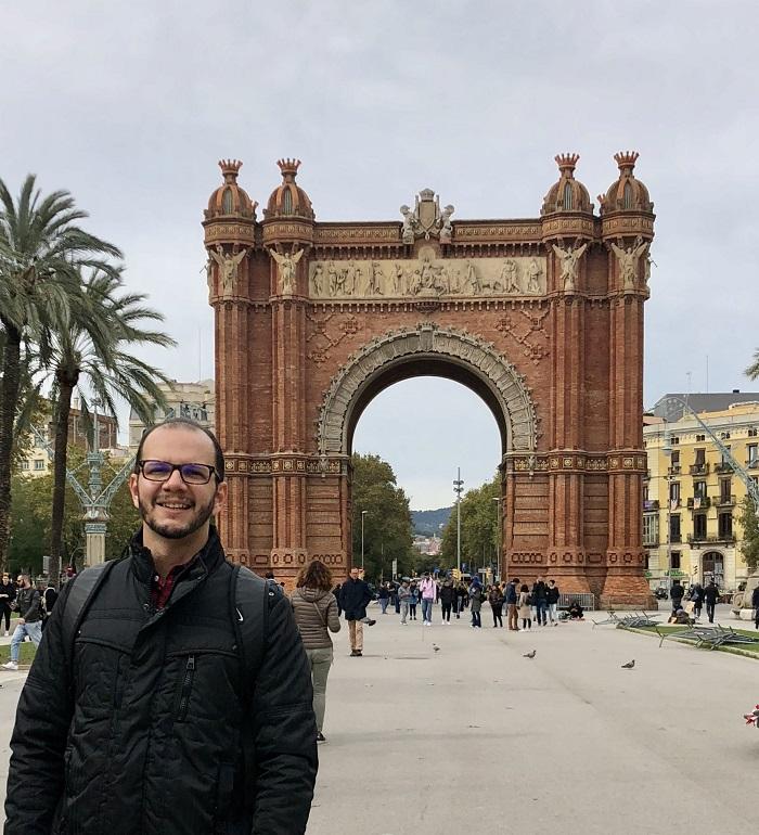 Arco do Triunfo, em Barcelona