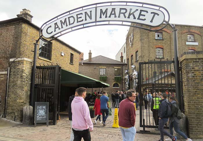 Camden Market, em Londres