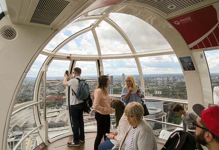 London Eye, em Londres