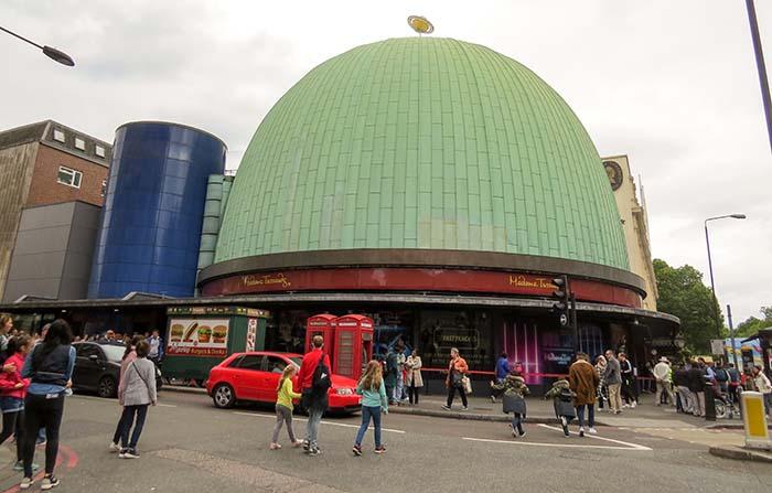 Madame Tussauds,em Londres