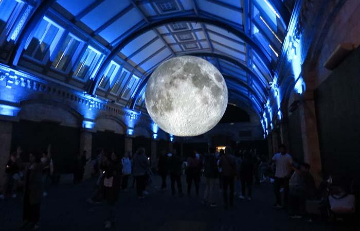 Museu da Lua, no Museu de História Natural