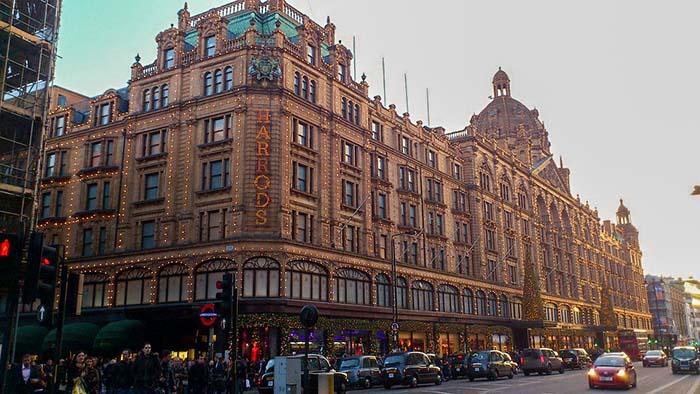 Harrods, em Londres