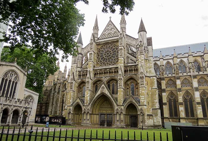 Abadia de Westminster, em Londres - Inglaterra