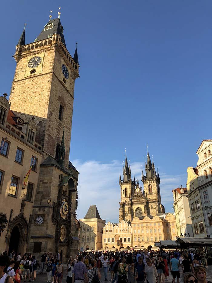 Torre da Prefeitura, em Praga