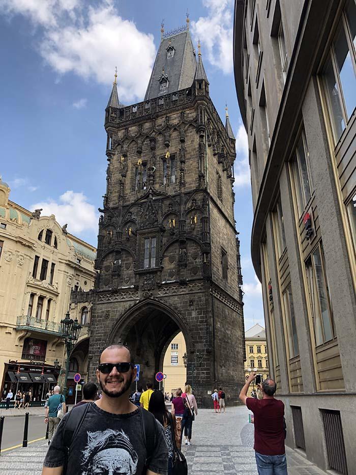 Torre de Pólvora, em Praga