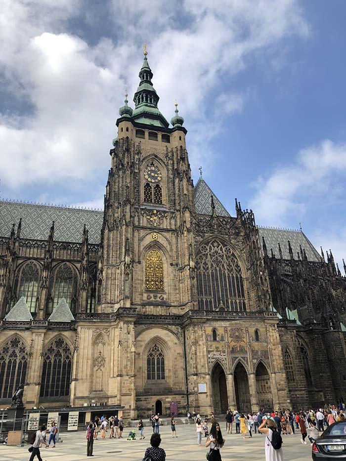 Catedral de São Vito,, no Castelo de Praga.