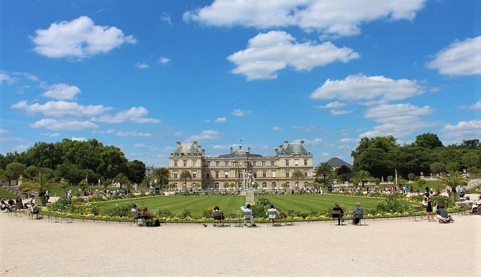 Jardins de Luxemburgo, em Paris