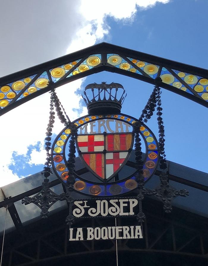 Mercado de La Boqueria, em Barcelona.