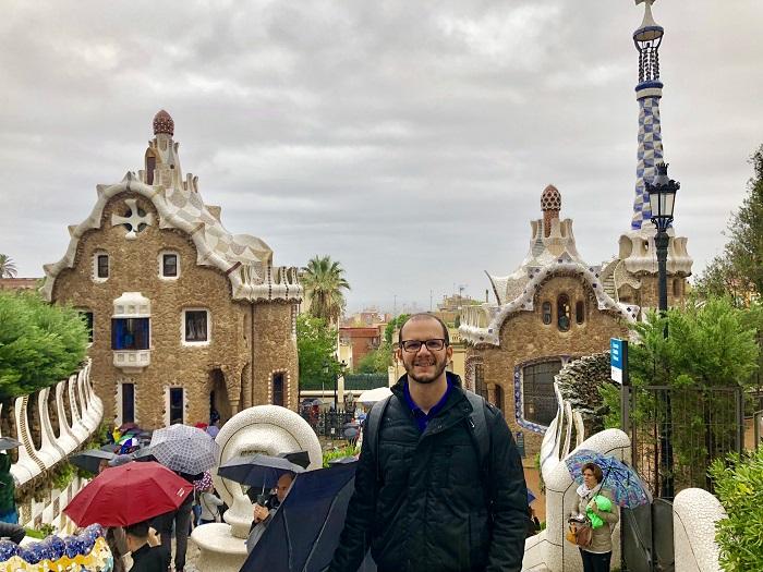 Parc Güell, em Barcelona