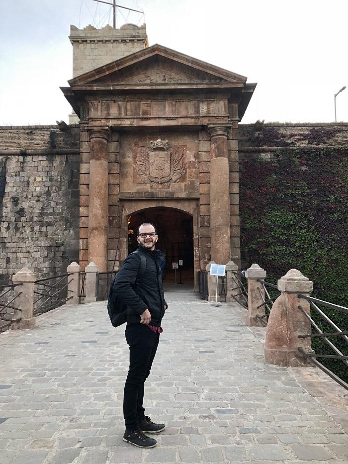 Entrada do Castelo de Montjuïc