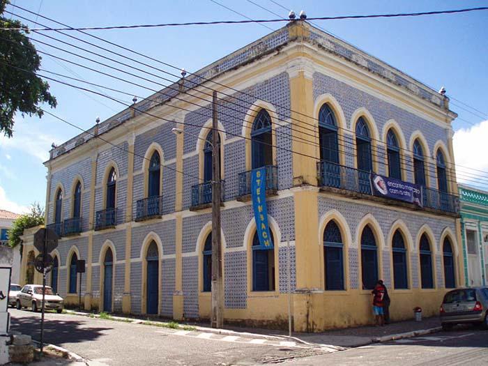 Casa dos Azulejos, em João Pessoa, Paraíba