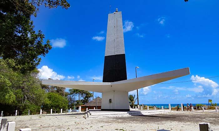 Farol de Cabo Branco, em João Pessoa, Paraíba
