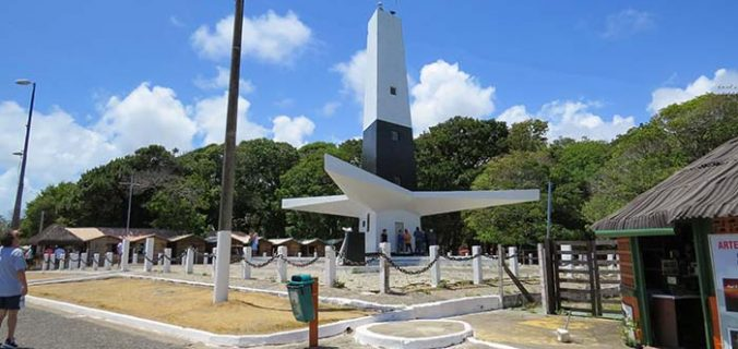 Farol do Cabo Branco, em João Pessoa, Paraíba