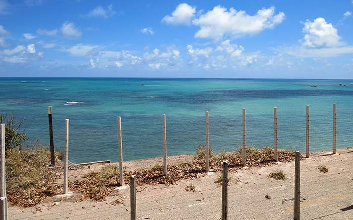 Praia da Ponta do Seixas, em João Pessoa, Paraíba
