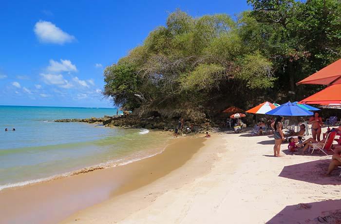 Praia do Amor, no município de Conde, Paraíba
