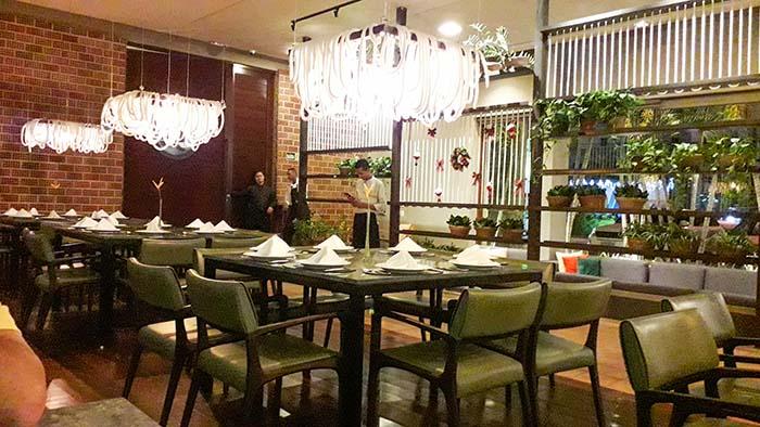 Restaurante Nau, em João Pessoa.