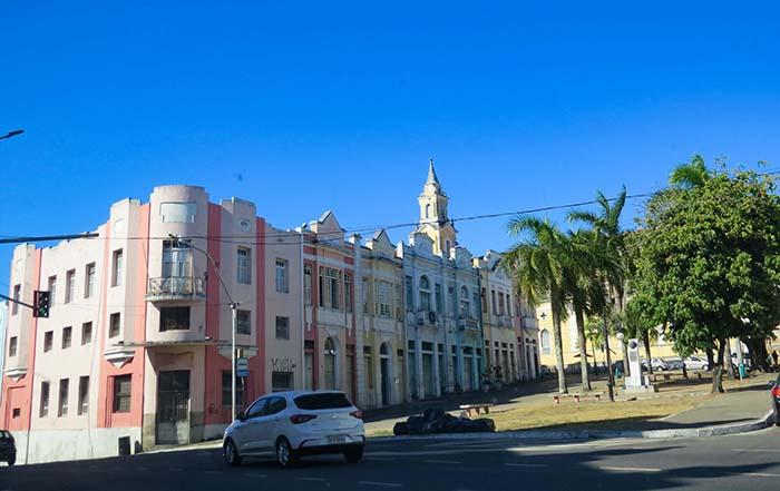 Casinhas coloridas no Centro Histórico de João Pessoa