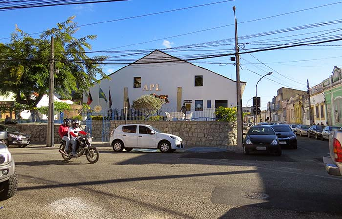 Academia paraibana de Letras, em João Pessoa, Paraíba