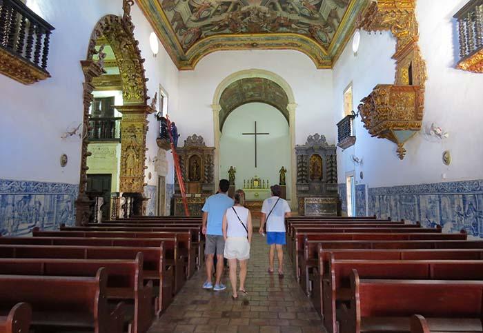 Capela da Ordem Terceira de São Francisco, em João Pessoa, Paraíba
