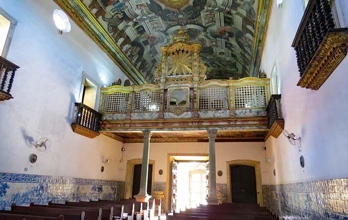 Coro da Igreja de São Francisco, em João Pessoa, Paraíba.
