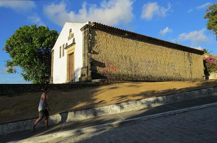 Cada da Pólvora, em João Pessoa, Paraíba