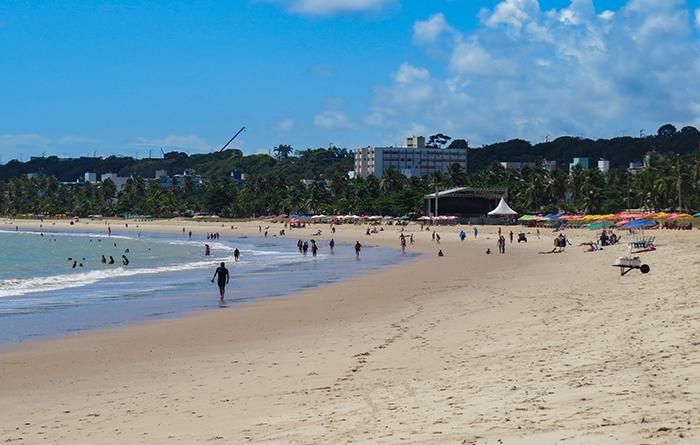 Praia de Tambaú, em João Pessoa