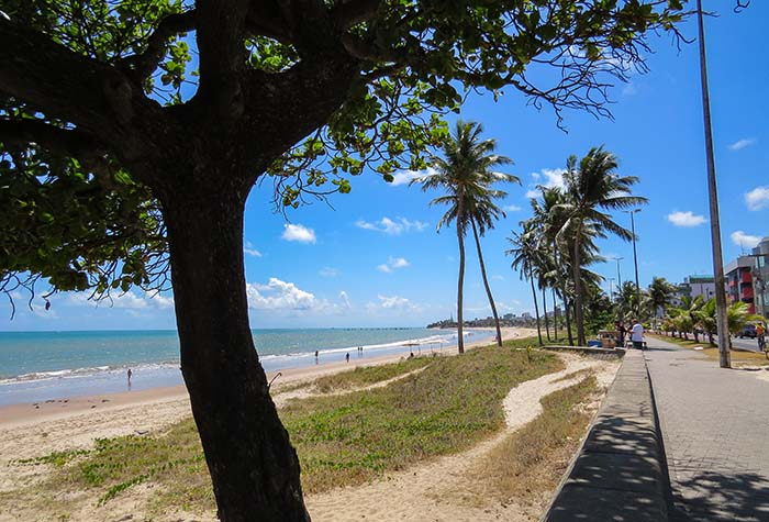 Praia de Manaíra, em João Pessoa