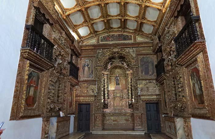 Capela da Ordem Terceira no Centro Cultural São Francisco, em João Pessoa, Paraíba