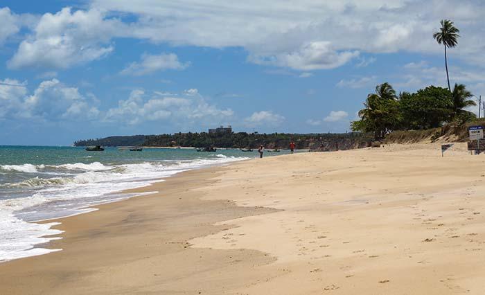 Praia do Amor, em Conde, Paraíba