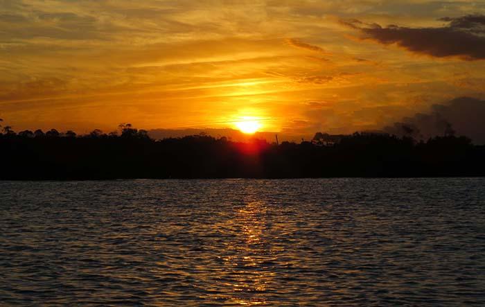 Por do Sol em João Pessoa, Paraíba