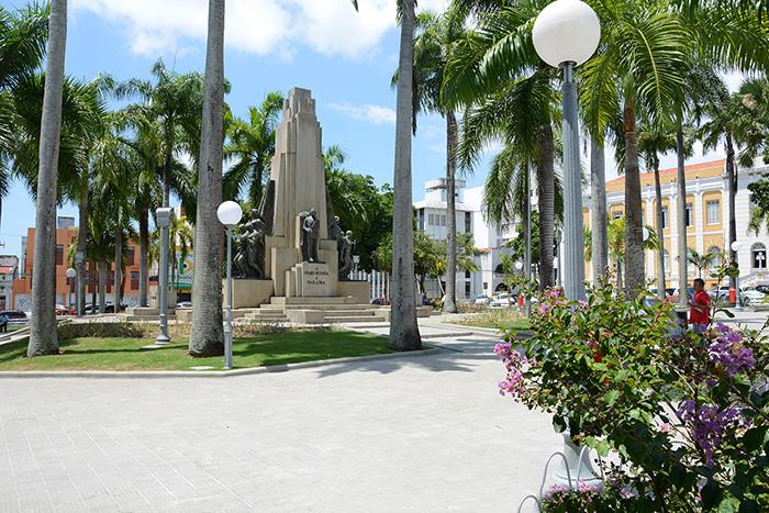 Praça João Pessoa, em João Pessoa, Paraíba