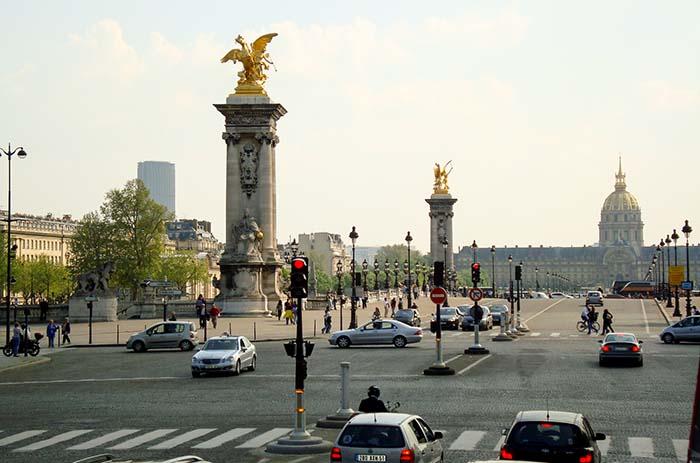 Hôtel des Invalides e a Dome, em Paris