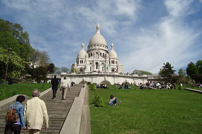Sacre Coeur, em Paris